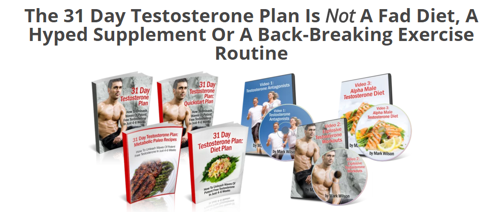 31 Day Testosterone Plan Review-Free eBook Download!!!!