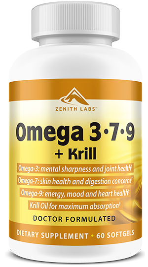 Zenith Labs Omega 3-7-9 + Krill Review-Does This